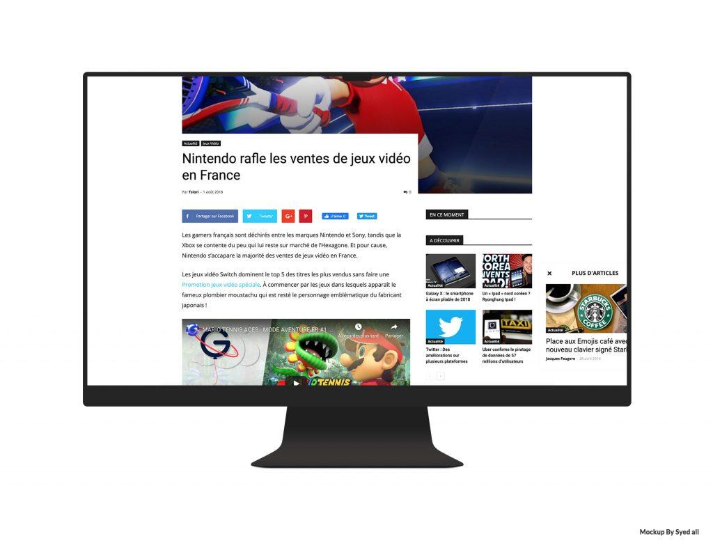 Site TechMoka article